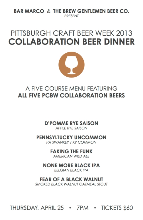 PCBW Dinner Flyer
