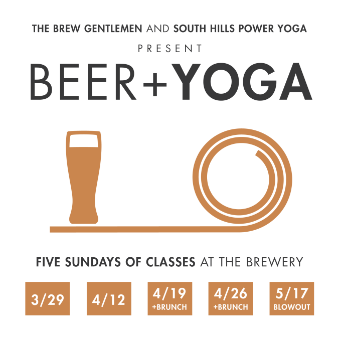 Beer + Yoga square