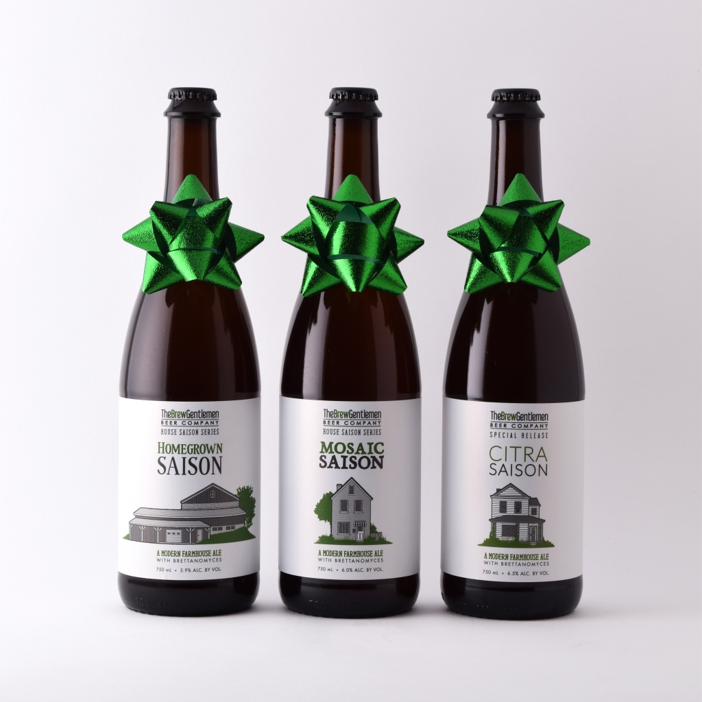 House Saison Christmas Trio