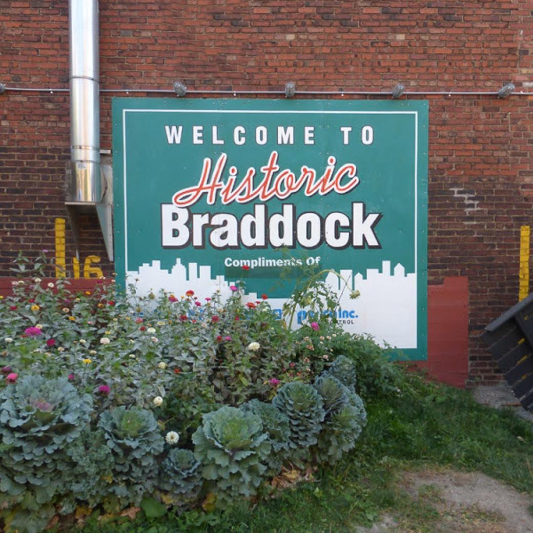 Braddock mural Square